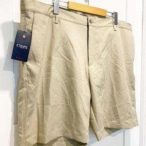 NWT - Chaps Golf Shorts Hudson Tan sz 42